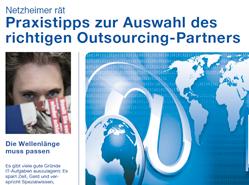 Checkliste Netzheimer gibt Tipps zur Auswahl des richtigen Outsourcing-Partners
