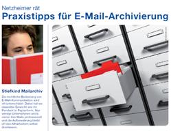 Checkliste netzheimer gibt Tipps zur E-Mail-Archivierung