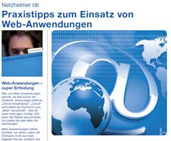 Checkliste Netzheimer gibt Tipps zum Einsatz-vom Web-Anwendungen
