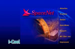 Webseiten Historie SpaceNet